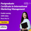 Postgraduate Certificate in International Marketing Management