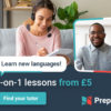 preply language tutor online learning